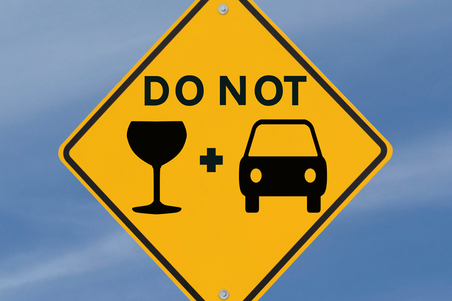 Drink and Drive on New Years Party