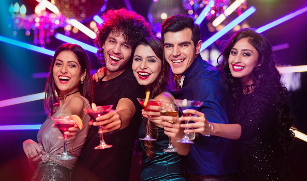 Party places in Delhi