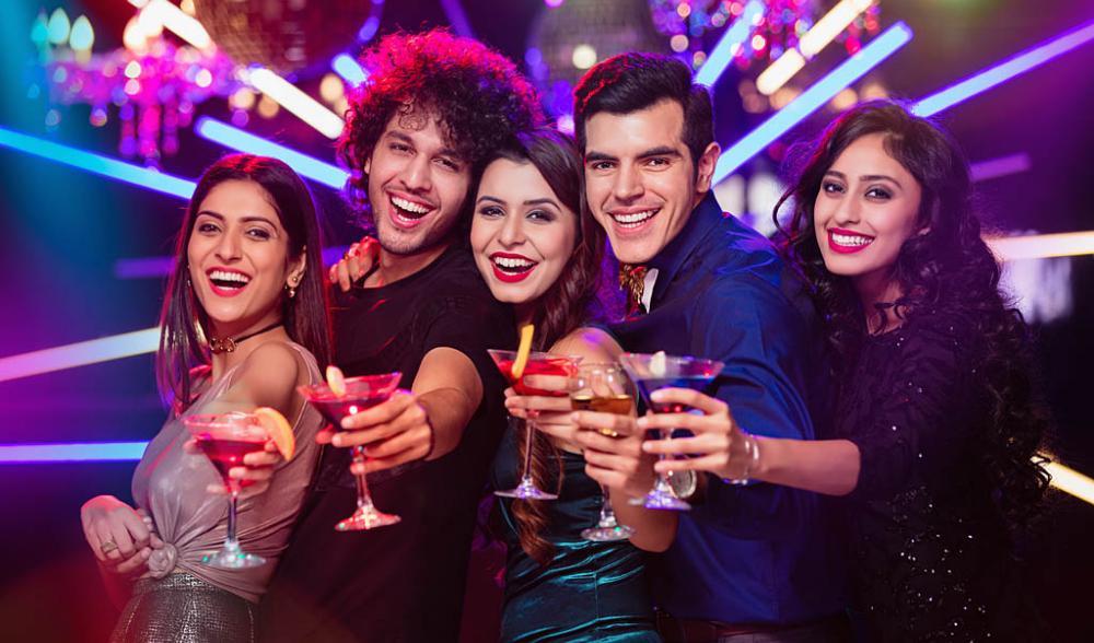 Party places in Delhi