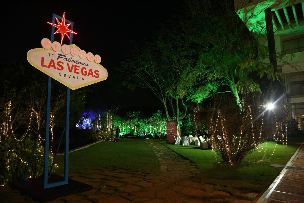 Las Vegas new year party in Bangalore